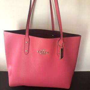 Authentic coach town tote